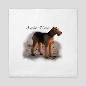 Airedale Terrier Queen Duvet