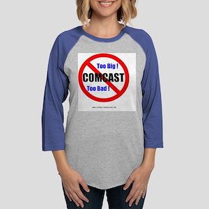 comcastSHIRTv2 Womens Baseball Tee