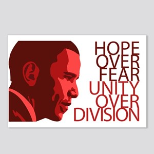 Obama Red Tones Postcards (Package of 8)