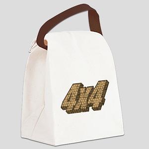 Four Wheel Drive Canvas Lunch Bag