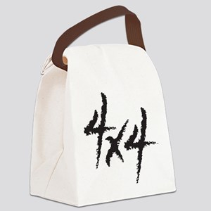 Four by Four Canvas Lunch Bag