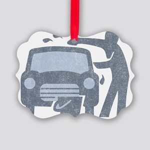 Carwash Picture Ornament
