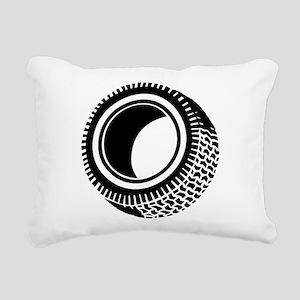 Tire Rectangular Canvas Pillow