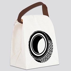 Tire Canvas Lunch Bag