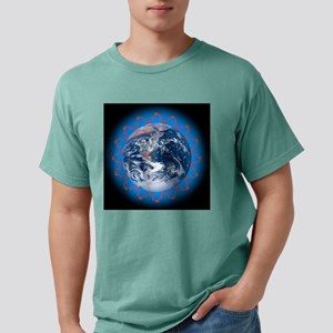 Greenhouse effect, conce Mens Comfort Colors Shirt