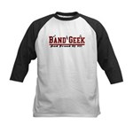 Band Geek Kids Baseball Jersey