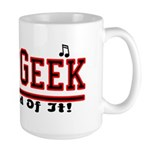 Band Geek Large Mug