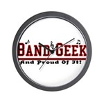 Band Geek Wall Clock