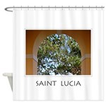 St Lucia Shower Curtain