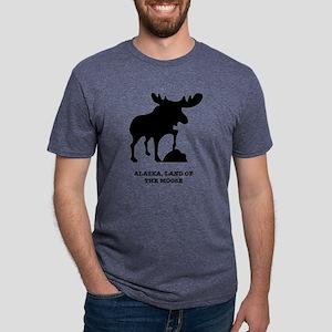 Land of the Moose Mens Tri-blend T-Shirt