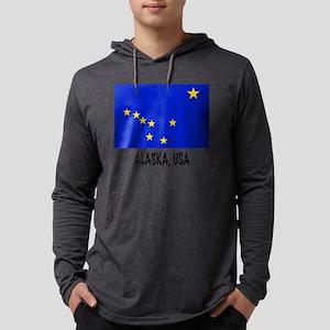 AK USA Mens Hooded Shirt