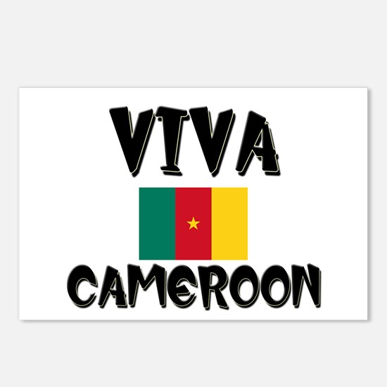 Viva Cameroon Postcards (Package of 8)