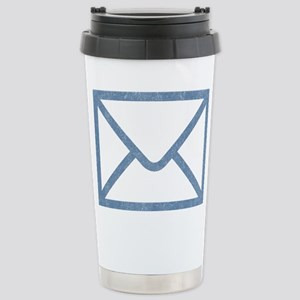 Vintage Email Stainless Steel Travel Mug