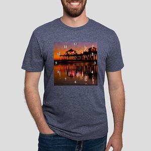HB12606Clock Mens Tri-blend T-Shirt