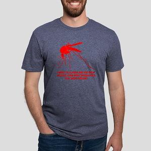 red AK wildlife Mens Tri-blend T-Shirt