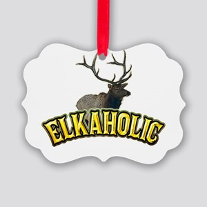 elkaholic Picture Ornament