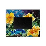 Garden Yellow Floral Picture Frame