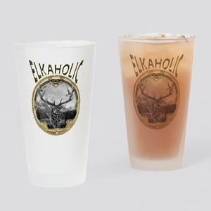 elkaholicgold1245 Drinking Glass