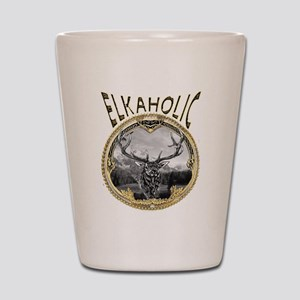elkaholicgold1245 Shot Glass