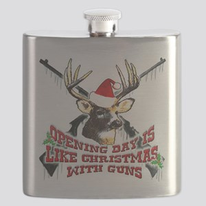 opening day is like christmas with guns Flask