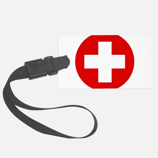 First Aid Kit Luggage Tag