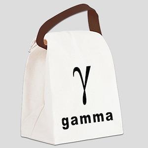 Greek(gamma)1 Canvas Lunch Bag