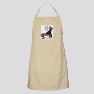 Black Lab Clown BBQ Apron