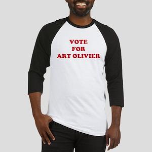 VOTE FOR ART OLIVIER Baseball Jersey