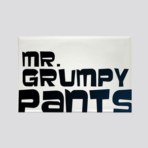 Mr Grumpy Pants Rectangle Magnet