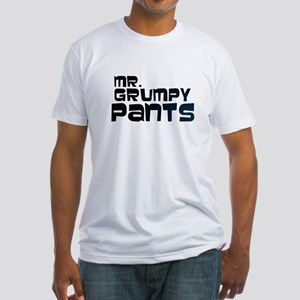 Mr Grumpy Pants Fitted T-Shirt