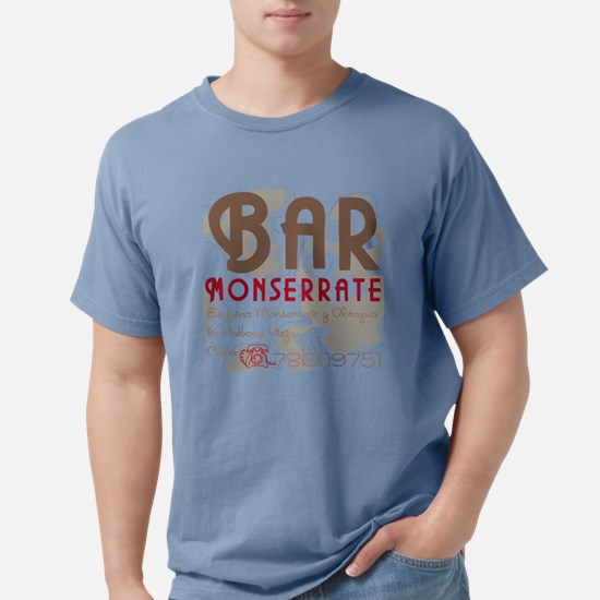 Bar Monserrate Havana Cu Mens Comfort Colors Shirt
