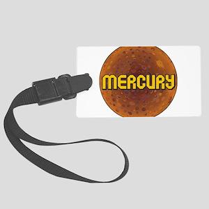 Planet Mecury Large Luggage Tag