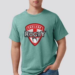 rugby ball shield englan Mens Comfort Colors Shirt