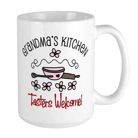 Tasters Welcome Large Mug