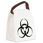 Nuclear Symbol Canvas Lunch Bag