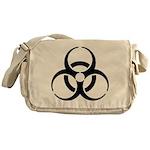 Nuclear Symbol Messenger Bag