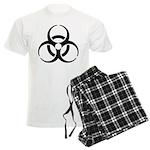 Nuclear Symbol Men's Light Pajamas