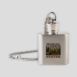 morel hunter Flask Necklace