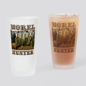 morel hunter Drinking Glass