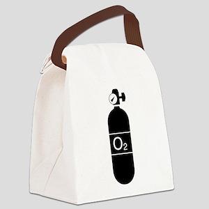 O2bottle Canvas Lunch Bag
