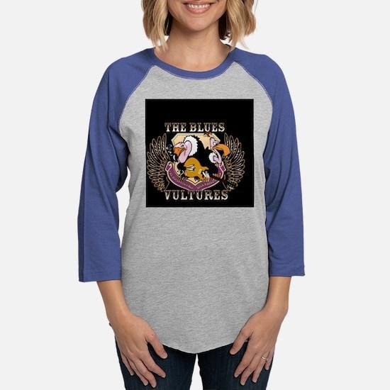 vultures_round.psd Womens Baseball Tee