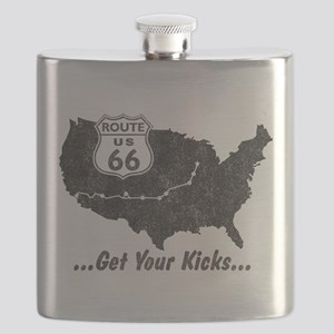 Retro Route66 Flask