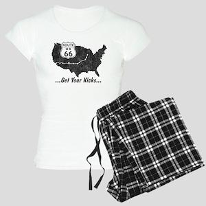 Retro Route66 Women's Light Pajamas