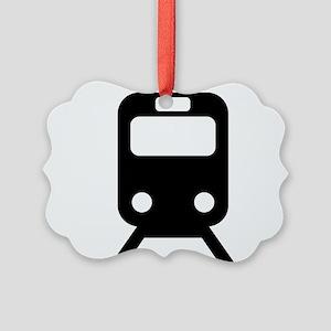 Subway Picture Ornament