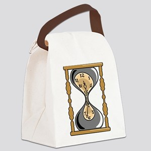 Hourglass Canvas Lunch Bag
