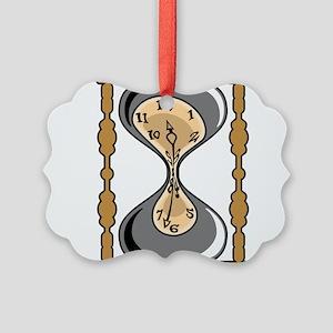 Hourglass Picture Ornament