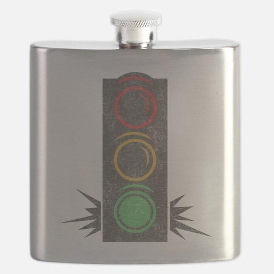 Vintage Trafficlight Flask