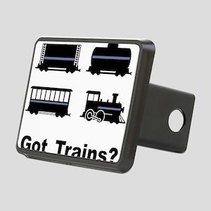 Got Trains? Rectangular Hitch Cover