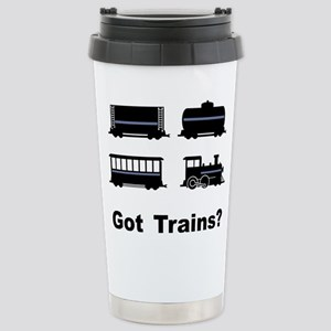 Got Trains? Stainless Steel Travel Mug