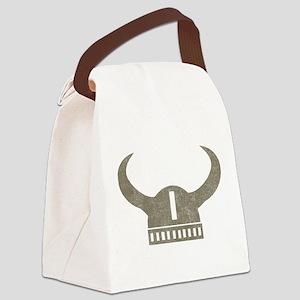 Vintage Viking Canvas Lunch Bag